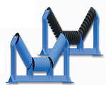 Luff Industries offers a wide selection of CEMA rated conveyor belt Idlers to meet your conveying needs.