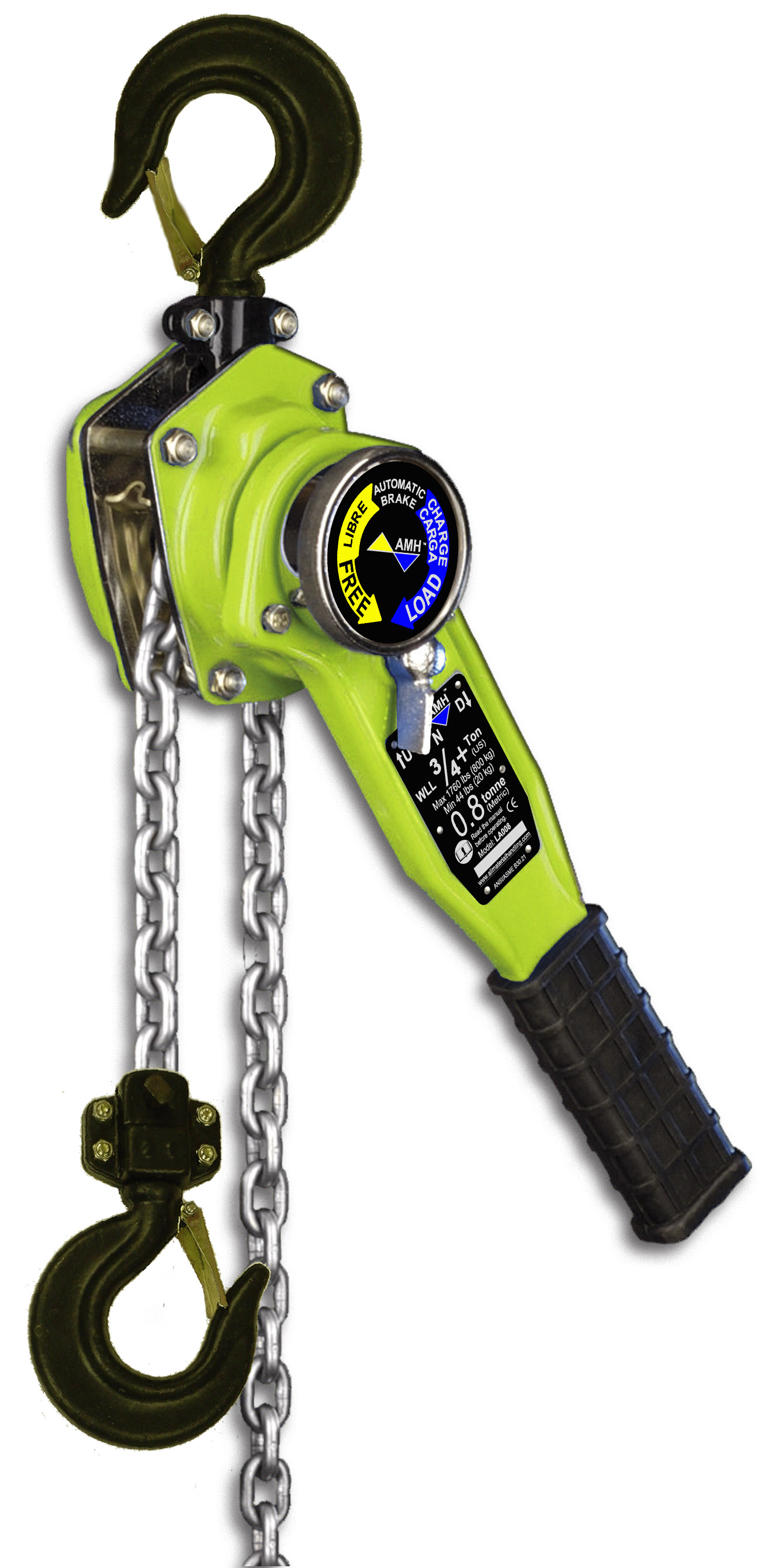 3/4 TO 10 TON CAPACITY LEVER CHAIN HOIST