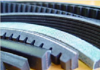 Conventional wrapped v-belts Fractional wrapped v-belts Metric wedge wrapped v-belts Wedge wrapped v-belts	Wrapped banded v-belts Raw edge cogged v-belts Hexagonal double v-belts Cogged banded v-belts Automotive cogged v-belts Multirib (poly-v)